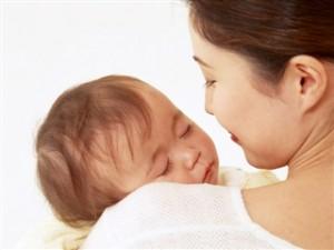 赤ちゃんとおかあさん