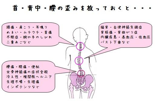 脊椎・骨盤のゆがみ5